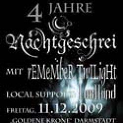vampster verlost Konzertkarten für NACHTGESCHREI
