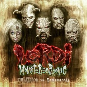 "LORDI: Cover des neuen Albums ""Monsterephonic (Theaterror Vs. Demonarchy)"""