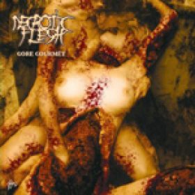 NECROTIC FLESH: enthüllen Cover-Artwork