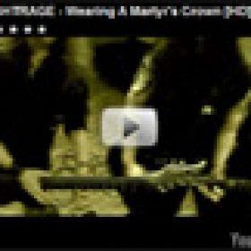 NIGHTRAGE: Neues Video zum Song ´Wearing A Matyr´s Crown´