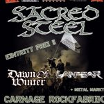 SACRED STEEL: Releaseparty zum neuen Album ´Carnage Victory´