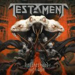 "TESTAMENT: Cover von  ""Brotherhood Of Snakes"" & Clubkonzerte"