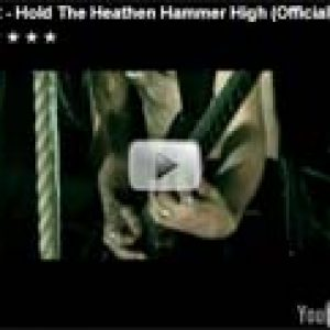 TYR: ´Hold The Heathen Hammer High´ – neues Video