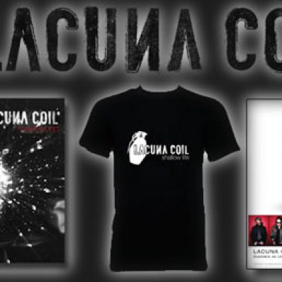 LACUNA COIL: vampster verlost signierte Singles, Shirts und Poster