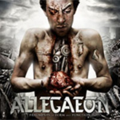 ALLEGAEON: Cover & Tracklist ´Fragments Of Form And Function´
