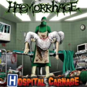 HAEMORRHAGE: ´Hospital Carnage´ – neues Album als Stream