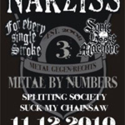 METAL BY NUMBERS: Konzert mit NARZISS
