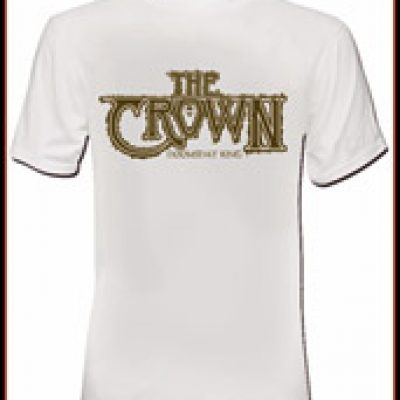 THE CROWN: T-Shirts + Poster zu ´Doomsday King´ gewinnen