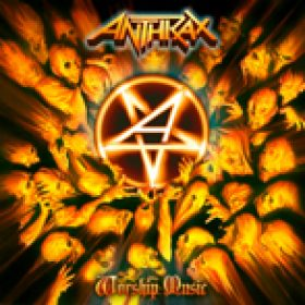 ANTHRAX: Cover von ´Worship Music´