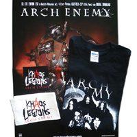 ARCH ENEMY: ´Khaoten´-Package mit Shirt, Armbinde, Poster & Sticker zu gewinnen!