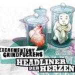 EXCREMENTORY GRINDFUCKERS: Songs vom neuen Album ´Headliner der Herzen´ online