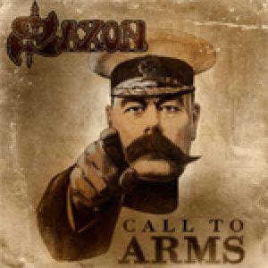 SAXON: Cover & Tracklist von ´Call To Arms´
