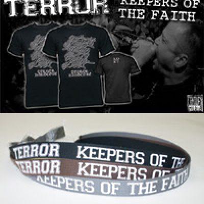 TERROR: Snippets von ´Keepers Of The Faith´, Shirts, Gürtel & Poster zu gewinnen