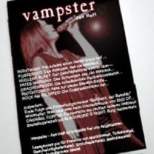 Vampster – das Heft! Ab 26. April am Kiosk