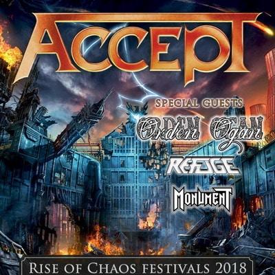 RISE OF CHAOS: neue Festival-Reihe von ACCEPT