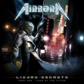 "AIRBORN: Stream vom ""Lizard Secrets: Part One"" Album"