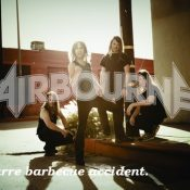 AIRBOURNE: A bizarre barbecue accident.