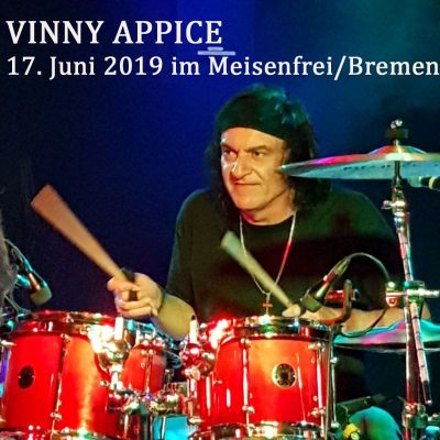 VINNY APPICE live 17. Juni 2019 im Meisenfrei Bremen