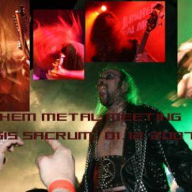 ARNHEM METAL MEETING: Arnhem, Musis Sacrum: 01.12.2007