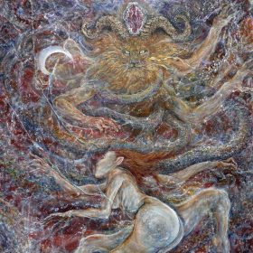 """AT THE ALTAR OF THE HORNED GOD: neues Ambient Black Metal Album """"Through Doors Of Moonlight"""""""