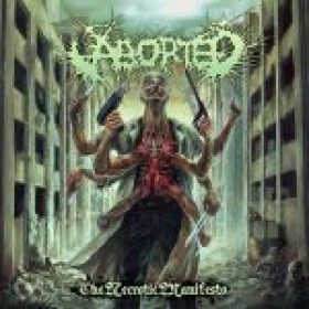 "ABORTED: Cover und Trackliste zu ""The Necrotic Manifesto"""