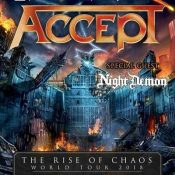 """ACCEPT """"The Rise Of Chaos""""-World Tour 2018 mit NIGHT DEMON"""
