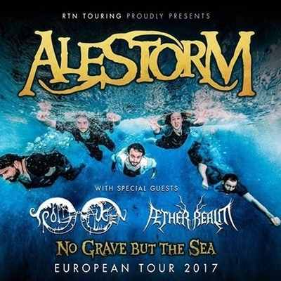 "ALESTORM, AETHER REALM, TROLDHAUGEN: ""No Grave But The Sea""-Tour"