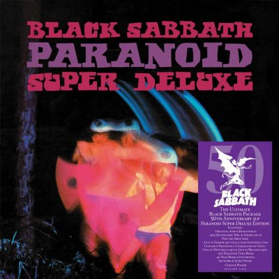 BLACK SABBATH: Paranoid Super Deluxe 5-LP Boxed Set [5-Vinyl]