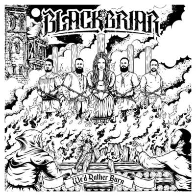 "BLACKBRIAR: Video-Clip von ""We´d Rather Burn"" EP"