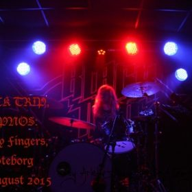 BLACK TRIP, HYPNOS: Sticky Fingers, Göteborg – 28. August 2015