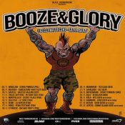 BOOZE & GLORY / GIUDA: Tourdaten