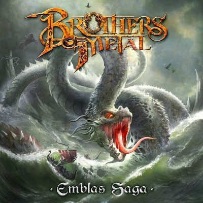 DEUTSCHE ALBUMCHARTS: mit BROTHERS OF METAL, RAGE, MYSTIC PROPHECY