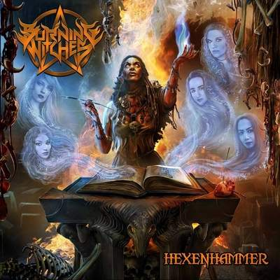 "BURNING WITCHES: Lyric-Video vom ""Hexenhammer"" Album"