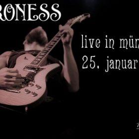BARONESS und NEBRA am 25. Januar 2010 im Orangehouse München