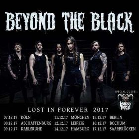"BEYOND THE BLACK, KOBRA AND THE LOTUS: ""Lost In Forever 2017""-Tour"