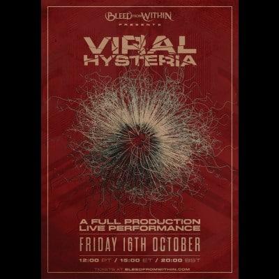 "BLEED FROM WITHIN: Livestream-Konzert ""Viral Hysteria"" am 16. Oktober 2020"