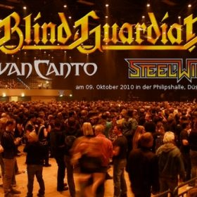 BLIND GUARDIAN, VAN CANTO und STEELWING in der Philipshalle, Düsseldorf am 09.10.2010