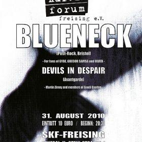 BLUENECK, DEVILS IN DESPAIR: Freising, SKF, 31.08.2010
