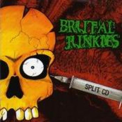 BRUTAL JUNKIES: Split CD