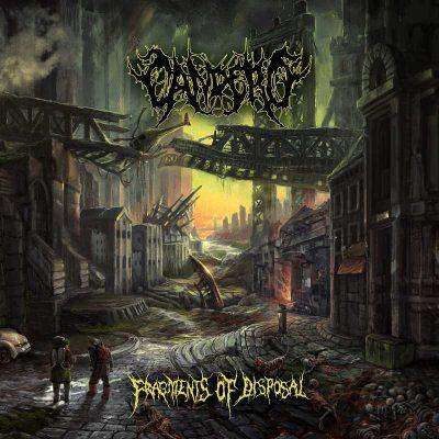 """CANDERO: Neues Brutal Death Album """"Fragments of Disposal"""" aus Würzburg"""