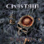 """CHASTAIN: Cover und Tracklist zu """"We Bleed Metal"""""""