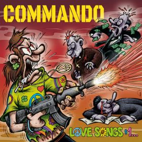"COMMANDO: Single vom Crossover / Punk Album ""Love Songs #1… (Total Destruction, Mass Executions)"""