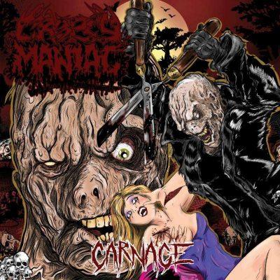 """CROPSY MANIAC: erster Track von Horror-Filmen inspirierter """"Carnage"""" EP"""