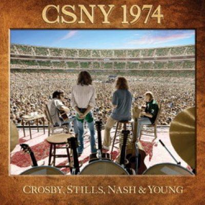 CROSBY, STILLS, NASH & YOUNG: Package mit unveröffentlichten Live-Aufnahmen von 1974