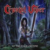 "CRYSTAL VIPER: Limitiere EP ""At The Edge Of Time"""