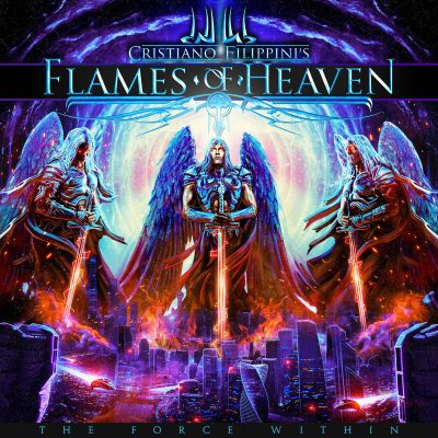 "CRISTIANO FILIPPINI´S FLAMES OF HEAVEN: Video-Clip vom neuen Epic Symphonic Power Metal Album ""The Force Within"""