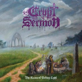 "CRYPT SERMON: Stream vom neuen Doom Album ""The Ruins of Fading Light"""
