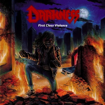 "DARKNESS: Lyric-Video zu ""Low Velocity Blood Spatter"" online"