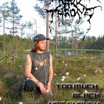 DARKTHRONE: Too much black, not enough metal