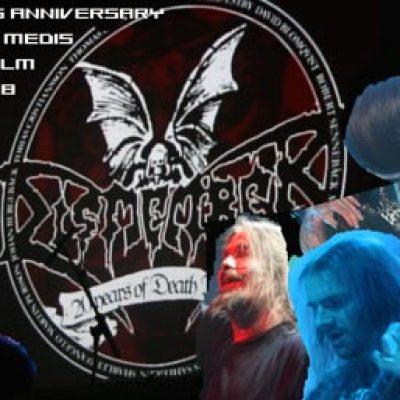 DISMEMBER – 20 Years Anniversary Show, Debaser Medis, Stockholm: 22.11.2008
